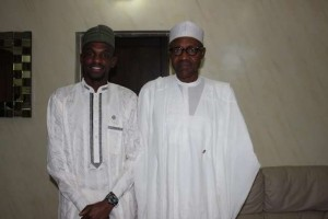 Commonwealth-Youth-chair-Ahmed-Adamu-and-President-elect-Muhammadu-Buhari